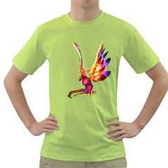 Phoenix 1 Mens  T Shirt (green) by gatterwe