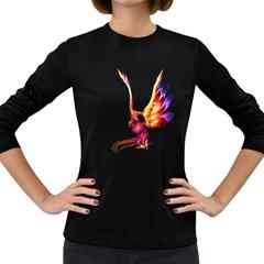 Phoenix 1 Womens' Long Sleeve T Shirt (dark Colored) by gatterwe
