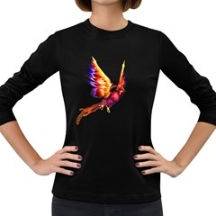 Phoenix 2 Womens' Long Sleeve T Shirt (dark Colored) by gatterwe