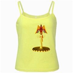 Phoenix 3 Yellow Spaghetti Tank by gatterwe
