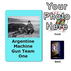 Tfl Iabsm Falklands Deck Argentine By Joe Collins   Playing Cards 54 Designs   Z9yc316d1qh6   Www Artscow Com Front - Heart5
