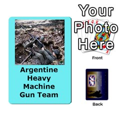Tfl Iabsm Falklands Deck Argentine By Joe Collins   Playing Cards 54 Designs   Z9yc316d1qh6   Www Artscow Com Front - Heart7