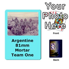 Tfl Iabsm Falklands Deck Argentine By Joe Collins   Playing Cards 54 Designs   Z9yc316d1qh6   Www Artscow Com Front - Heart8
