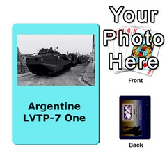 Tfl Iabsm Falklands Deck Argentine By Joe Collins   Playing Cards 54 Designs   Z9yc316d1qh6   Www Artscow Com Front - Heart10