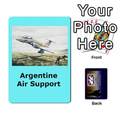 Ace Tfl Iabsm Falklands Deck Argentine By Joe Collins   Playing Cards 54 Designs   Z9yc316d1qh6   Www Artscow Com Front - HeartA