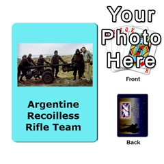 Tfl Iabsm Falklands Deck Argentine By Joe Collins   Playing Cards 54 Designs   Z9yc316d1qh6   Www Artscow Com Front - Diamond3
