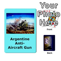 Tfl Iabsm Falklands Deck Argentine By Joe Collins   Playing Cards 54 Designs   Z9yc316d1qh6   Www Artscow Com Front - Diamond8