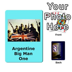 Queen Tfl Iabsm Falklands Deck Argentine By Joe Collins   Playing Cards 54 Designs   Z9yc316d1qh6   Www Artscow Com Front - DiamondQ