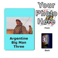 Ace Tfl Iabsm Falklands Deck Argentine By Joe Collins   Playing Cards 54 Designs   Z9yc316d1qh6   Www Artscow Com Front - DiamondA