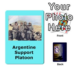 Tfl Iabsm Falklands Deck Argentine By Joe Collins   Playing Cards 54 Designs   Z9yc316d1qh6   Www Artscow Com Front - Club5