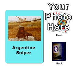Tfl Iabsm Falklands Deck Argentine By Joe Collins   Playing Cards 54 Designs   Z9yc316d1qh6   Www Artscow Com Front - Club6