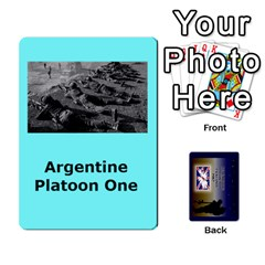Tfl Iabsm Falklands Deck Argentine By Joe Collins   Playing Cards 54 Designs   Z9yc316d1qh6   Www Artscow Com Front - Club8