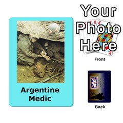 Tfl Iabsm Falklands Deck Argentine By Joe Collins   Playing Cards 54 Designs   Z9yc316d1qh6   Www Artscow Com Front - Joker2