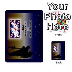 Tfl Iabsm Falklands Deck Argentine By Joe Collins   Playing Cards 54 Designs   Z9yc316d1qh6   Www Artscow Com Back