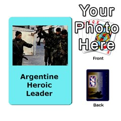 Tfl Iabsm Falklands Deck Argentine By Joe Collins   Playing Cards 54 Designs   Z9yc316d1qh6   Www Artscow Com Front - Spade8
