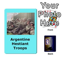 Tfl Iabsm Falklands Deck Argentine By Joe Collins   Playing Cards 54 Designs   Z9yc316d1qh6   Www Artscow Com Front - Spade10