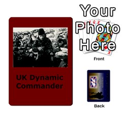 Tfl Iabsm Falklands Deck Uk By Joe Collins   Playing Cards 54 Designs   8v3ffqg6srcf   Www Artscow Com Front - Diamond8