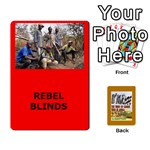 TFL BMaso Modern Deck Rebels - Playing Cards 54 Designs
