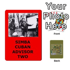 Tfl Bmaso Congo Deck Un And Simba By Joe Collins   Playing Cards 54 Designs   6fwwwyiqwkux   Www Artscow Com Front - Club8
