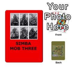 Jack Tfl Bmaso Congo Deck Un And Simba By Joe Collins   Playing Cards 54 Designs   6fwwwyiqwkux   Www Artscow Com Front - ClubJ