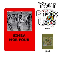 Queen Tfl Bmaso Congo Deck Un And Simba By Joe Collins   Playing Cards 54 Designs   6fwwwyiqwkux   Www Artscow Com Front - ClubQ