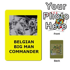Tfl Bmaso Congo Deck Belgians, Un, And Simbas By Joe Collins   Playing Cards 54 Designs   Aaa8tush7fjc   Www Artscow Com Front - Spade4
