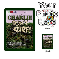 Tfl Charlie Dont Surf Deck 6 By Joe Collins   Playing Cards 54 Designs   6dae2ezelysk   Www Artscow Com Back