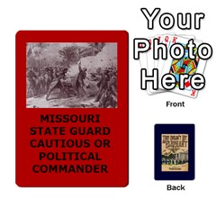 Jack Tfl They Couldnt Hit An Elephant Deck Missouri 1861 Wilsons Creek By Joe Collins   Playing Cards 54 Designs   Ku38kljb2wr4   Www Artscow Com Front - HeartJ