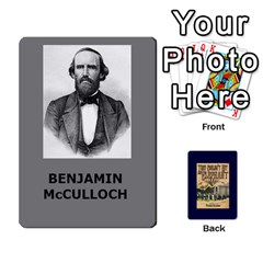 Ace Tfl They Couldnt Hit An Elephant Deck Missouri 1861 Wilsons Creek By Joe Collins   Playing Cards 54 Designs   Ku38kljb2wr4   Www Artscow Com Front - DiamondA