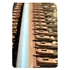 Train Track Removable Flap Cover (small) by hlehnerer