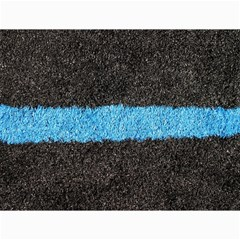 Black Blue Lawn Canvas 12  X 16  (unframed) by hlehnerer