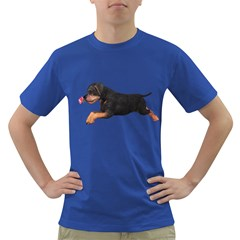 Puppy 1 Mens' T-shirt (Colored) by gatterwe