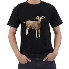 Goat 2 Mens' Two Sided T-shirt (Black) by gatterwe