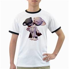 Vampire 1 Mens' Ringer T Shirt by gatterwe