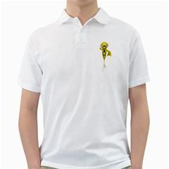 Fish 1 Mens  Polo Shirt (white) by gatterwe
