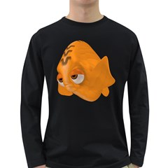 Fish 2 Mens' Long Sleeve T Shirt (dark Colored) by gatterwe