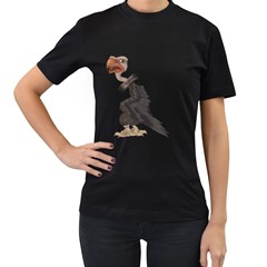 Vulture 1 Womens' T-shirt (Black)