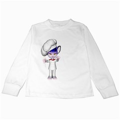 Cook 1 Kids Long Sleeve T Shirt by gatterwe