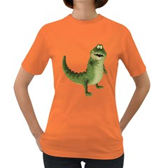 Toon Croco Womens' T Shirt (colored) by gatterwe