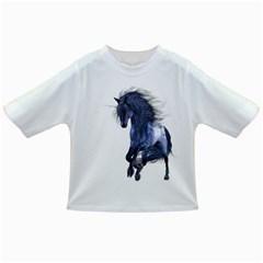 Blue Unicorn 1 Baby T Shirt by gatterwe