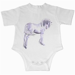 Silver Unicorn Infant Creeper by gatterwe