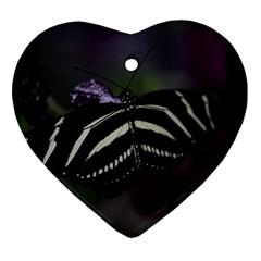 Butterfly 059 001 Heart Ornament