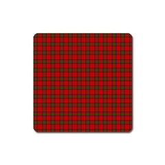 The Clan Steward Tartan Magnet (square) by BestCustomGiftsForYou