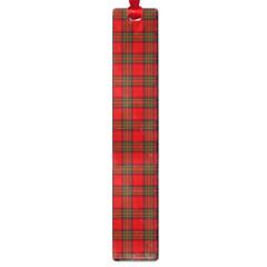 The Clan Steward Tartan Large Bookmark by BestCustomGiftsForYou