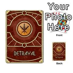 Dune Treachery  By Rafael Fuentes   Multi Purpose Cards (rectangle)   4jzhf4j4yqgg   Www Artscow Com Back 52