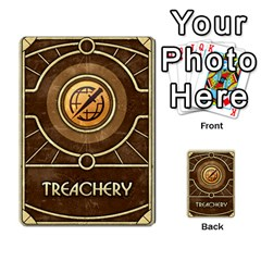 Dune Treachery  By Rafael Fuentes   Multi Purpose Cards (rectangle)   4jzhf4j4yqgg   Www Artscow Com Back 11