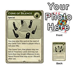 Dune Treachery  By Rafael Fuentes   Multi Purpose Cards (rectangle)   4jzhf4j4yqgg   Www Artscow Com Front 45