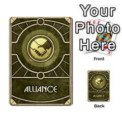 Dune Spice, Alliance  By Rafael Fuentes   Multi Purpose Cards (rectangle)   Tlebi0dm8vzl   Www Artscow Com Back 36