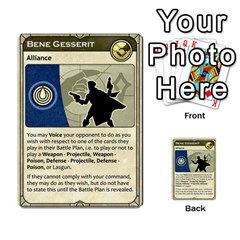 Dune Spice, Alliance  By Rafael Fuentes   Multi Purpose Cards (rectangle)   Tlebi0dm8vzl   Www Artscow Com Front 47