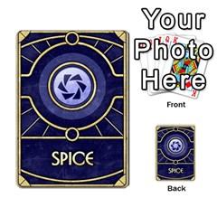 Dune Spice, Alliance  By Rafael Fuentes   Multi Purpose Cards (rectangle)   Tlebi0dm8vzl   Www Artscow Com Back 50